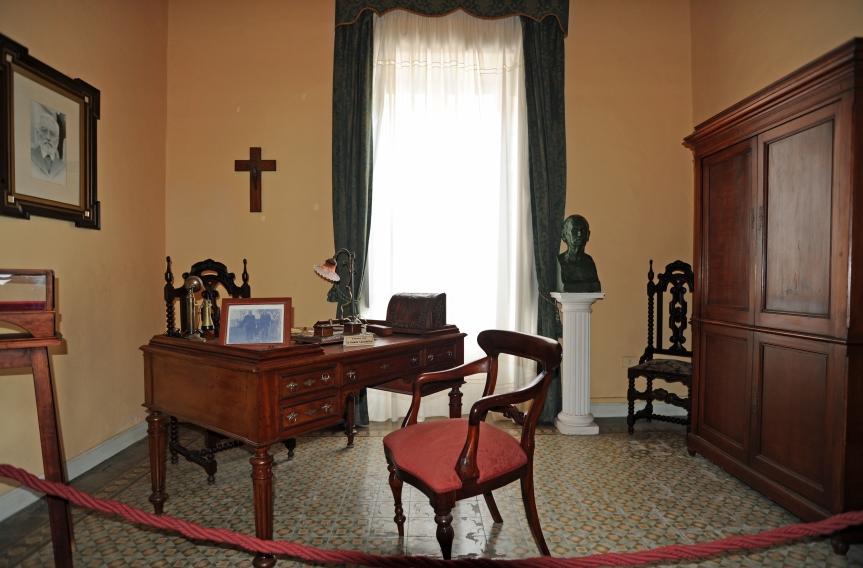 Bureau de la maison de Miguel de Unamuno à Puerto del Rosario à Fuerteventura